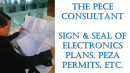 Sign and Seal of Electronics Plans and PEZA Permits (PECE)