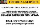 Tutor (Gradeschool, High School, College - Science,Math)