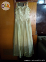 Large Golden Gown