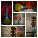guitar with free capo