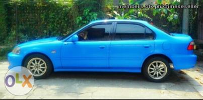 99 Honda Civic Matic S.kinis Fresh In & Out Spoon Blue Pioneer Mp3