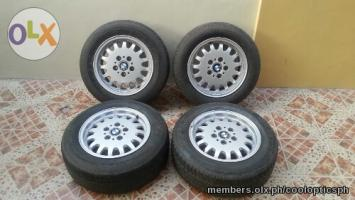 Bmw Mags With Tires