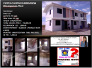 Low Cost Housing in Binangonan Fiesta Casitas
